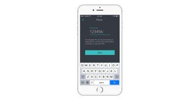 iPhone clocking in app