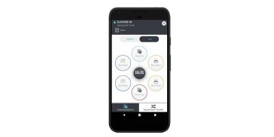Clocking in app for Android