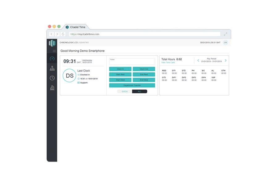 Web Based Attendance   Smartphone & Biometric Fingerprint Clocking